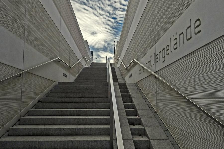 Berühmt Stadtimpuls Gummersbach: Neue Stufen für die Treppe FW82