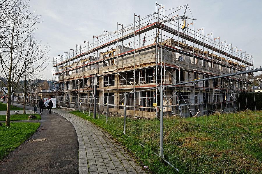 9ca273742175f Vor allem Eigentumswohnungen bieten wird der Gebäudekomplex